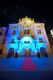 FOTO budova Reduty večerný pohľad zo Suchoňovho nám. MICHAEL DURCZOK