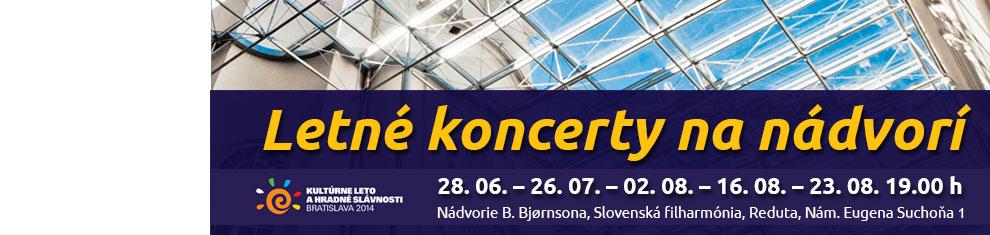 Letné koncerty na nádvorí