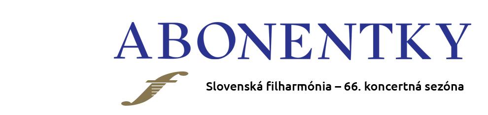 Slovenská filharmónia Abonentky 2014 2015 banner