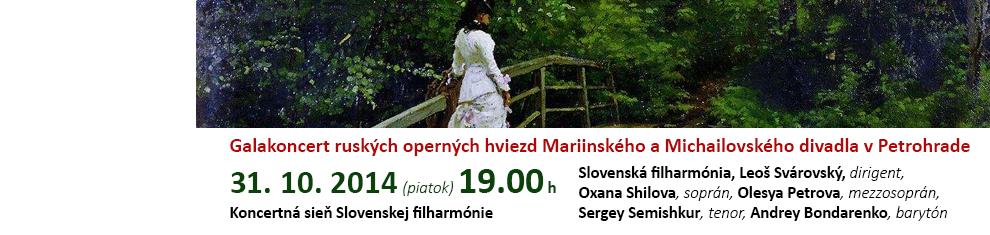 Galakoncert ruských operných hviezd