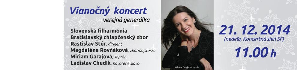 Vianočný koncert 2014 verejná generálka