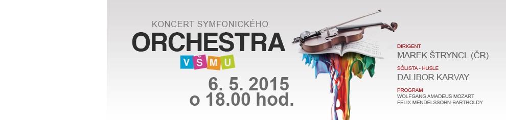 koncert orchestra VŠMU