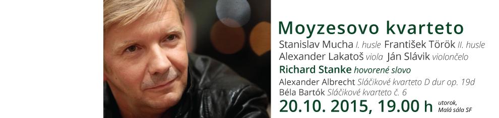 Moyzesovo kvarteto, Richard Stanke