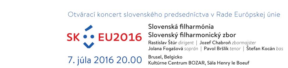 Otvárací koncert slovenského predsedníctva v Rade Európskej únie