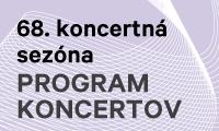 Program koncertov