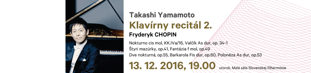 13. 12. 2016 Klavírny recitál