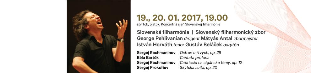 19. 01. 2017 Rachmaninov Bartók Prokofiev