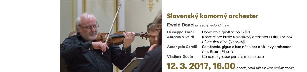 12. 03. 2017 SKO Torelli Vivaldi Godár