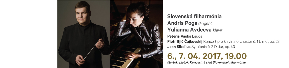 6., 7. 4. 2017 Vasks Čajkovskij Sibelius