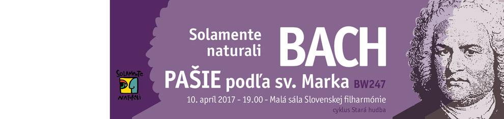 10. 4. 2017 Solamente naturali – Veľkonočný koncert