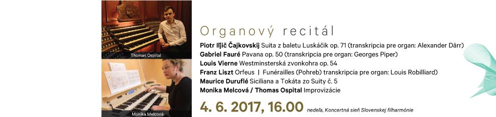 4. 6. 2017 Organový recitál