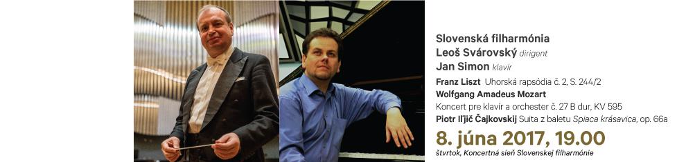 08. 06. 2017 Liszt Mozart Čajkovskij