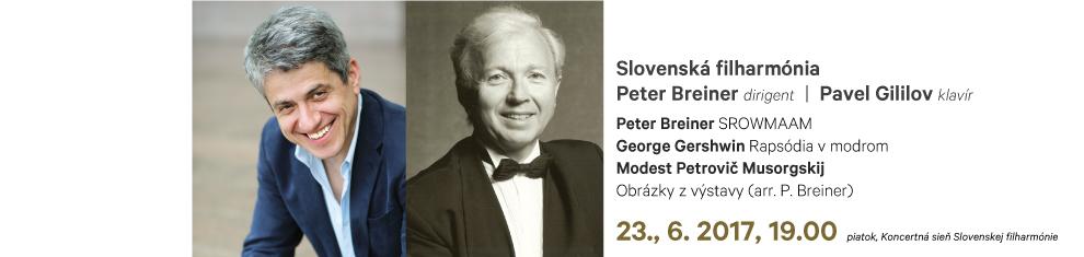 23. 06. 2017 Breiner Gershwin Musorgskij