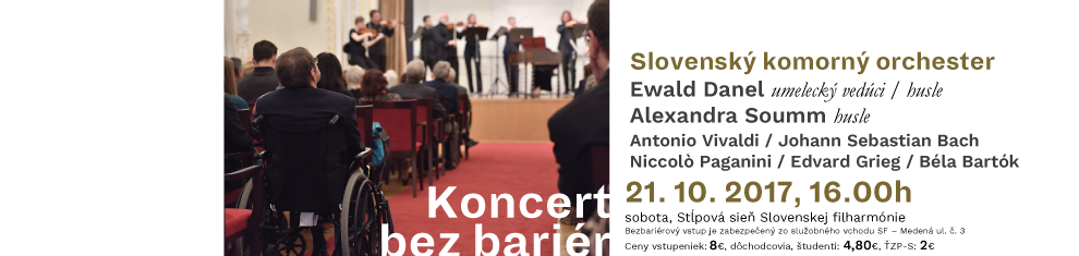 21. 10. 2017 Koncert bez bariér