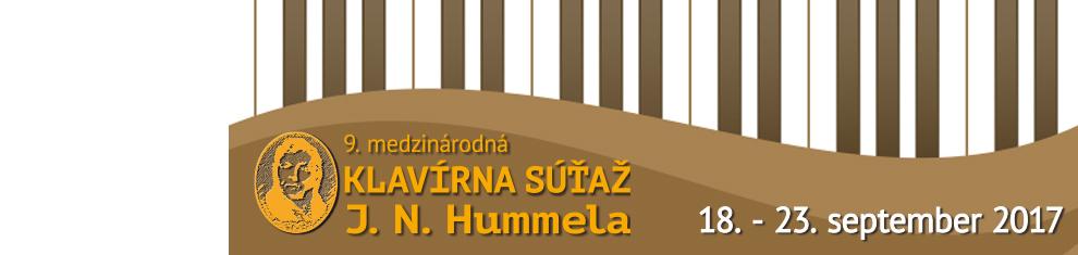 Hummelova klavírna súťaž 2017
