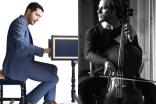 Michal Sťahel, violončelo, Mahan Esfahani, čembalo