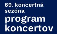 69. koncertná sezóna program koncertov