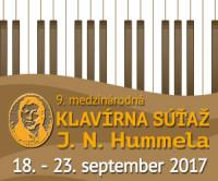 9. medzinárodná klavírna súťaž J. N. Hummela