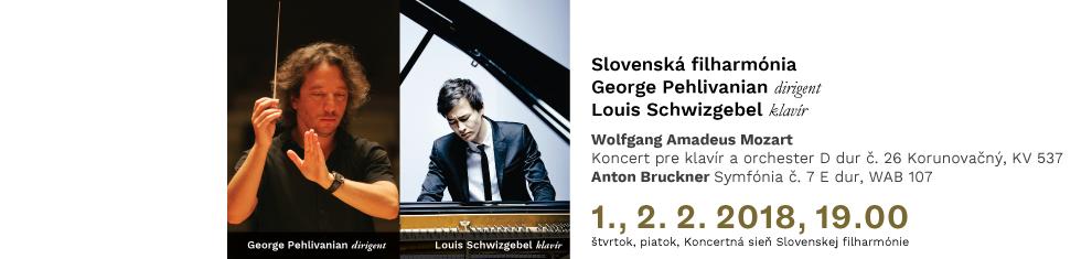 1., 2. 2. 2018 Mozart Bruckner
