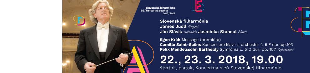 22., 23. 3. 2018 Krák Saint Saëns Bartholdy
