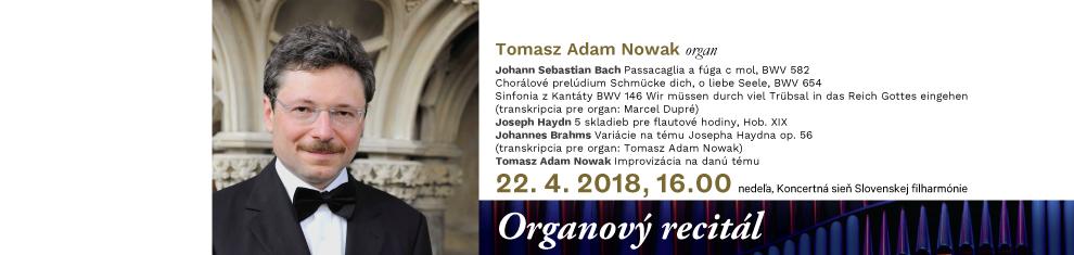 22. 4. 2018 O3 Tomasz Adam Nowak