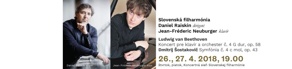 26., 27. 4. 2018 DE10 Beethoven Šostakovič