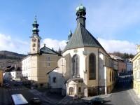 Banská Štiavnica Kostol sv. Kataríny exteriér