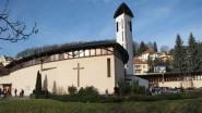 Kostel svate rodiny Luhacovice