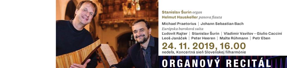 24. 11. 2019 Organový recitál