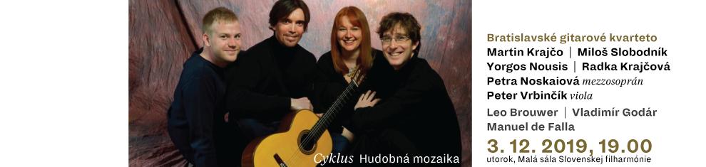3. 12. 2019 HM3 Bratislavské gitarové kvarteto