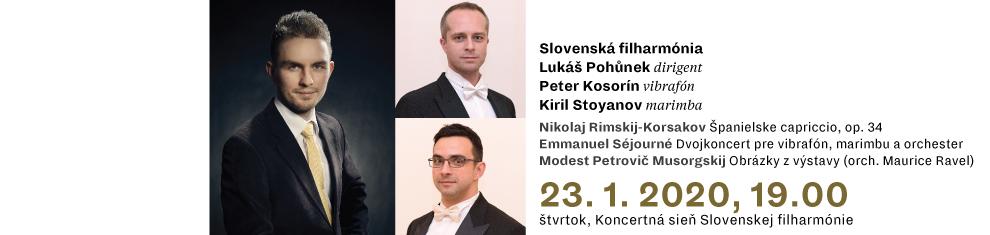 23. 1. 2020 C2 Rimskij-Korsakov Séjourné Musorgskij