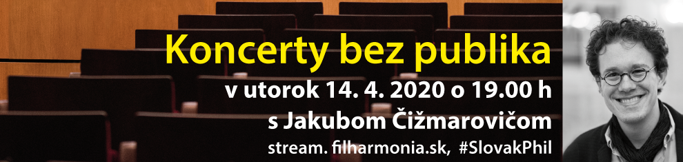 Koncerty bez publika: Jakub Čižmarovič