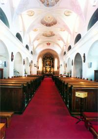 Farský kostol Nové Zámky