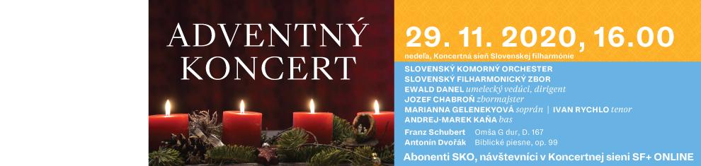 29. novembra 2020 Adventný koncert