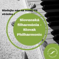 Sledujte nás na Slovenská filharmónia - Slovak Philharmonic (1)