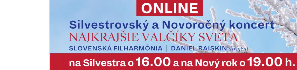 Online Silvestrovský a Novoročný koncert
