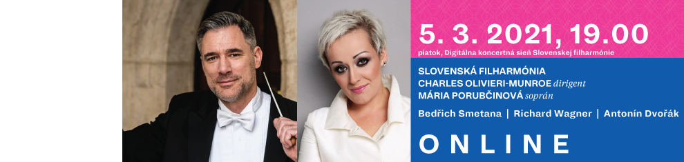 5. marca 2021 Smetana, Wagner, Dvořák