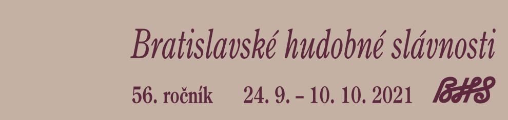 56. Bratislavské hudobné slávnosti 2021